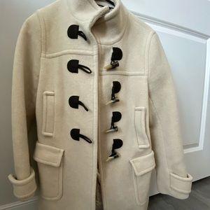 Banana Republic toggle button wool coat